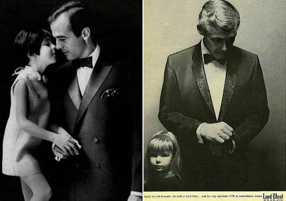 A Lord West öltöny minden korosztályban lenyűgözi a hölgyeket - ez a reklám mégis olyan, mintha a Keresztapa találkozna Lolitával.