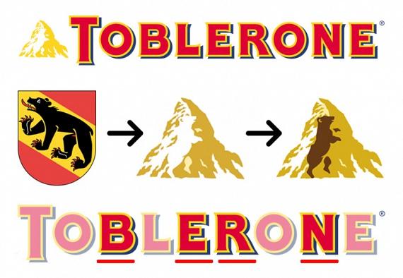 A svájci csokoládémárkán bizonyára feltűnt számodra a Matterhorn csúcsa - azonban észrevetted, milyen állatot rejt magában a hegycsúcs? A barnamedve a Toblerone szülővárosának, Bernnek a jelképe - erre utal az édesség neve is.