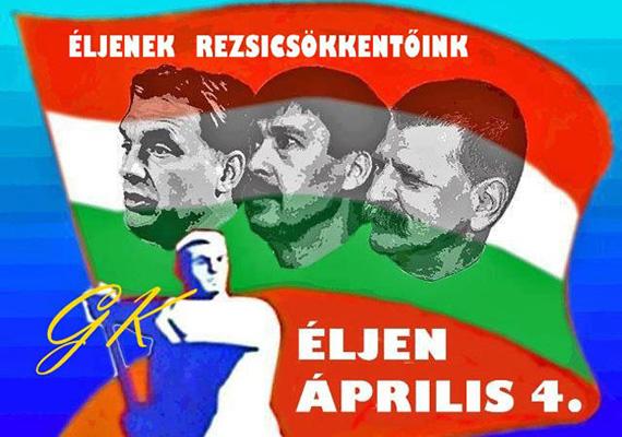 A három hős egy képen, Orbán, Áder és Kövér. Ha ők nem lennének, a rezsi sem csökkenne.