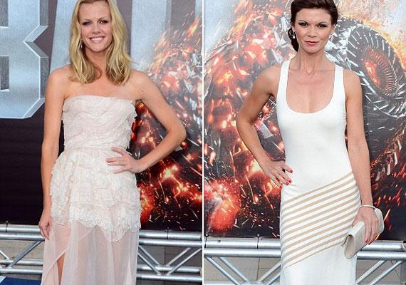 Brooklyn Decker és Danielle Vasinova is fehérbe öltözött.