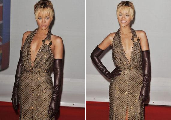 Rihanna három napon keresztül ünnepelte a 24. születésnapját, de a díjátadóra már a legjobb formájában érkezett meg.