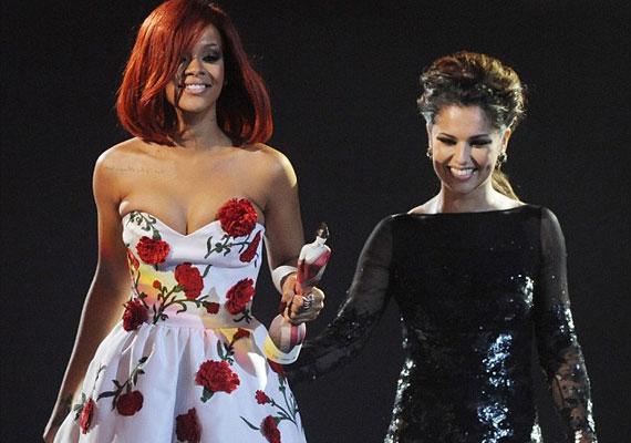 Cheryl Cole-lal már mindketten dicsérgették a másikat interjúkban.