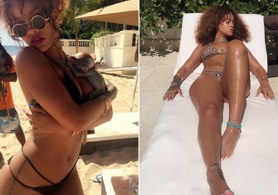 Sohasem volt szégyellős, bármikor megmutatja, amije van - az Instagramra például rendszeresen tölt fel bikinis fotókat, ezek a legújabbak.