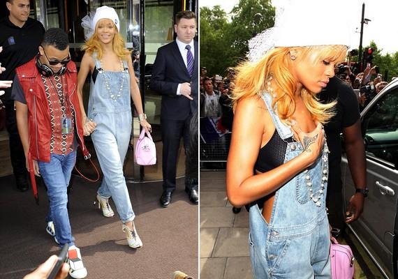 Hétfőn Rihanna fáradtnak és megviseltnek tűnt, amikor elhagyta a hotelt testvére társaságában, este pedig lekéste a saját koncertjét.