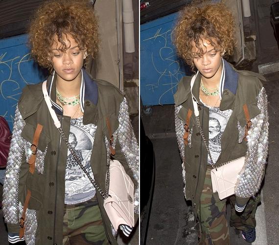 Rihanna jelenleg új albumán dolgozik, amelynek munkálatai miatt New York és Los Angeles között ingázik, és nemegyszer éjszaka kénytelen dolgozni, így nem meglepő, hogy ennyire fáradt.