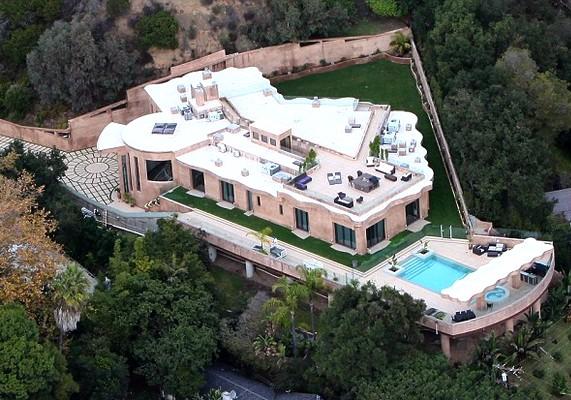 Így néz ki a 12 millió dolláros Los Angeles-i álomotthon.