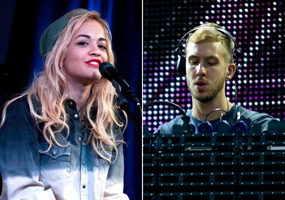 Ritát a legnépszerűbb énekesnőként, Calvint pedig szupersztár DJ-ként emlegetik.