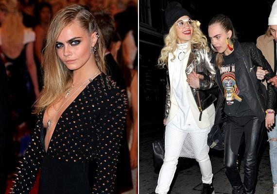 Mielőtt Calvinnel összejött, az énekesnő mindenhová Cara Delevingne társaságában járt - mostanában mintha elhanyagolná a feleségeként emlegetett modellt.
