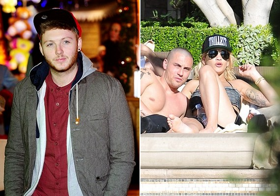 Februárban az X-Factor győztesével,James Arthurral alakult köztük valami, márciusban pedig már a focistaLuke Magillel nyaralt.