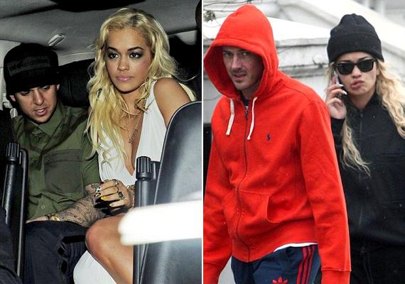 Rita tavaly még Rob Kardashiannel járt, majd a szakítás után David Beckham legjobb barátjával, Dave Gardnerrel hozták hírbe.