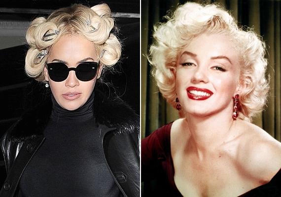 Rita haja végül valószínűleg Marilyn Monroe frizurájára hasonlított, de az eredményről már nem készültek fotók.