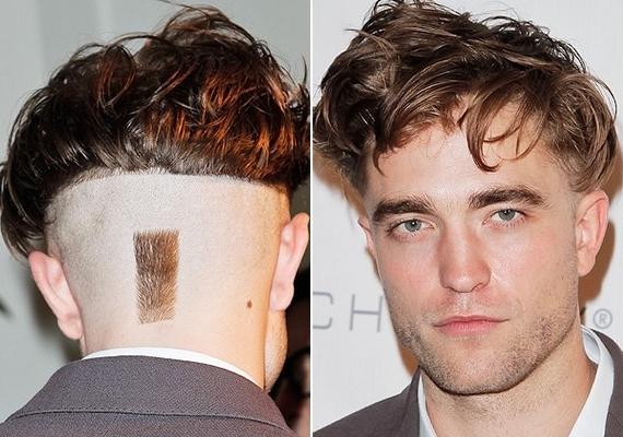 Tavaly év végén ilyen frizurával jelent meg egy gálán, de szerencsére nem viselte sokáig ezt a kompozíciót.