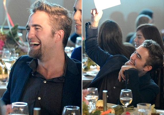 Egész este nevetett: nem is készült róla olyan fotó, amin nem ért fülig a szája.