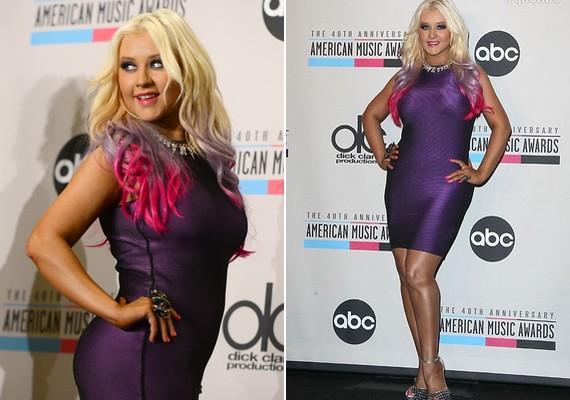 Christina Aguilera az utóbbi időben felszedett néhány kilót, de még nem egészen érzi, új alakjához mi az előnyös viselet.