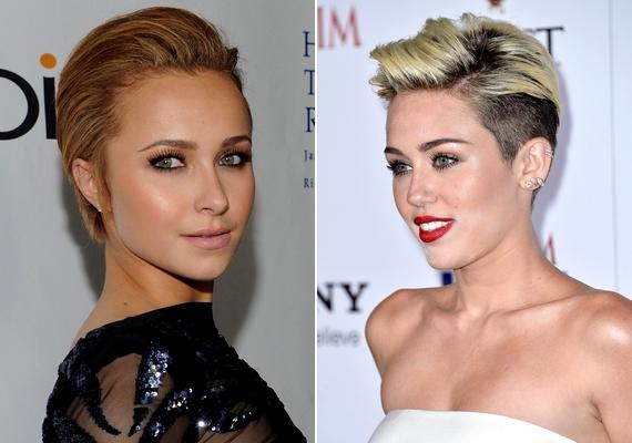 Hódítanak majd a hátrafésült fazonok is: a tincseidet teljes egészében elfésülheted az arcodból, mint Hayden Panettiere, vagy meghagyhatod a választékot, mint Miley Cyrus.