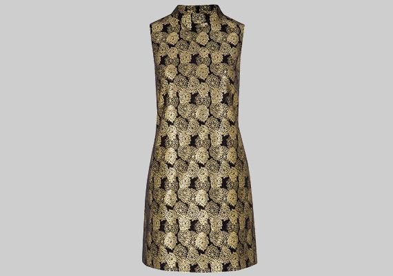 Ha homokóra alakod van, az F&F aranyszínű ruhájában is csinos leszel, amit 9200 forintért vásárolhatsz meg.