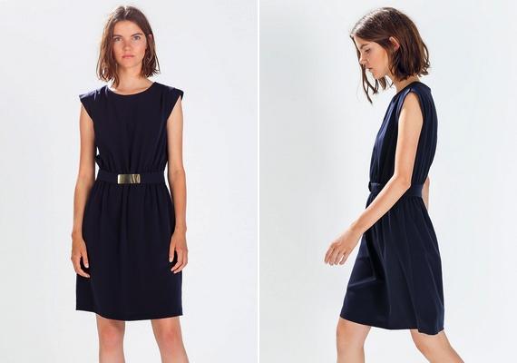 Ha téglalap alkatod van, irány a Zara: a szép kis övvel ellátott ruhácskában igazán nőies leszel. Fiús alkatúaknak is érdemes felpróbálni a 9995 forintos ruhát!