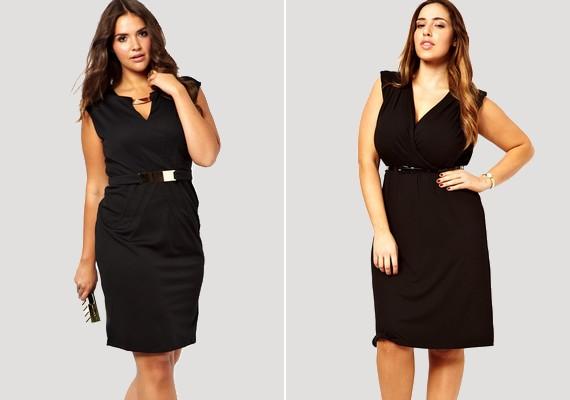 ee1b0c3757 Ha van rajtad némi felesleg, a legjobb választás a kis fekete ruha. Széles  csípő