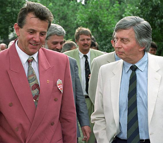Karrierje következő állomása a nagyköveti poszt, amit első ízben az Antall-kormánytól kapott meg 1993-ban. Schmitt 2002-ig volt nagykövet.