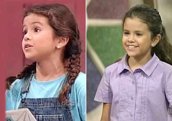 Selena Gomez bájos kislányként tűnt fel a Barney és barátai című sorozatban.