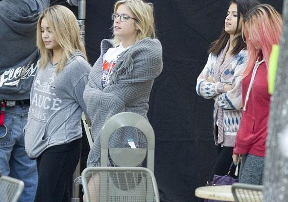 A Spring Breakers forgatására a színészek úgy érkeztek meg, mint akik most keltek ki az ágyból.