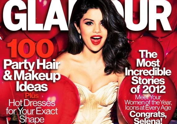 Selena az év nőjeként a Glamour magazin címlapján szerepelt.