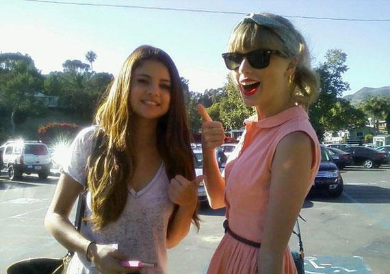 A legjobb barátnője Taylor Swift.