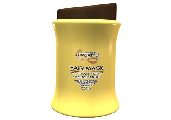 Ha a hajfestés következtében lett száraz a hajad, az Imperity Fantasy Fruit Hajpakolás hasznos lehet: keratinnal, búzaproteinnel, B5-provitaminnal dolgozik, UV-szűrős, és színmegőrző hatása van.