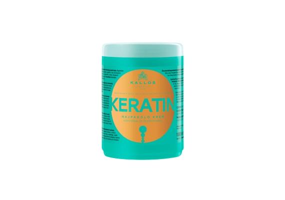 Az újrafeltöltő és regeneráló hatásúKallos KJMN Keratin Hajpakoló Krém két fő alkotóeleme a keratin és a tejprotein.