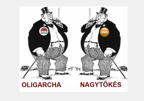 Újra, hogy mindenki értse: nem oligarcha, nagytőkés, akit támogatni kell.
