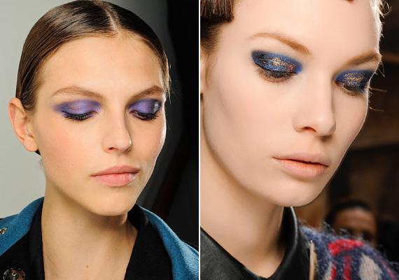 A sminkesek általában óva intenek a lila és a kék használatától, de idén bizony ez a két szín is megtalálja a maga közönségét. Ha a bőr-, szem- és hajszíneddel harmonizáló árnyalatot választasz, nem fogsz közönségesnek tűnni.