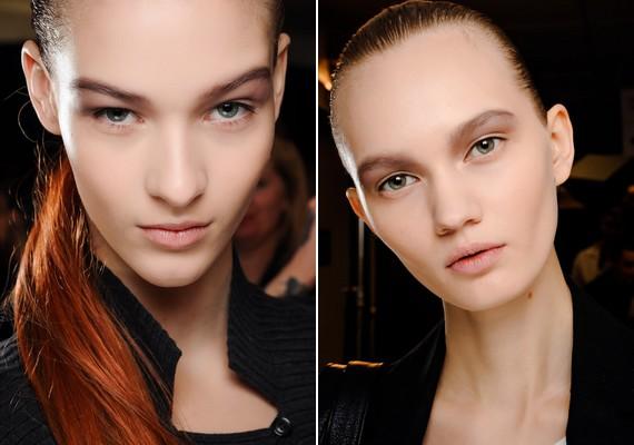 A természetes smink másik verziója, amikor a szemed külső sarkába már némi sötét szemhéjpúder is kerül árnyékolásképpen.