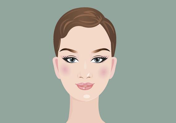 Ovális az arcformád, ha az arcod hosszabb, mint amilyen széles, a homlokod szélesebb, mint az állkapcsod, és finoman lekerekített állad van. A kontúrozásnál az arc enyhe összenyomása a cél: a homlokod tetejét és az állad csúcsát kell sötétítened, a highlightert pedig a szemed alá, az orcákra és az orrodra érdemes tenned, majd összedolgoznod a színeket. Kattints ide a videóért!