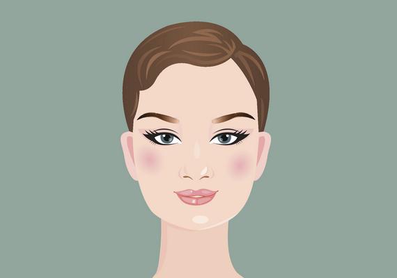 Szögletes az arcformád, ha az arcod nagyjából ugyanolyan széles, mint amilyen hosszú, sőt, a homlokodnál, az állkapocsnál és az arccsontok mentén mért szélesség is közel azonos. Az állkapcsod szögletes, az arcéleid hangsúlyosak. A kontúrozásnál az élek tompítása a cél: az arc széleit és az állkapcsot kell sötétítened, a highlihtert pedig a homlok közepén és az állon használd. Kattints ide a videóért!