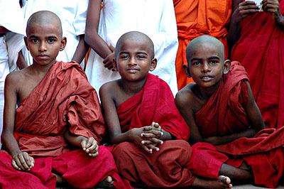 Hindu gyerekek.