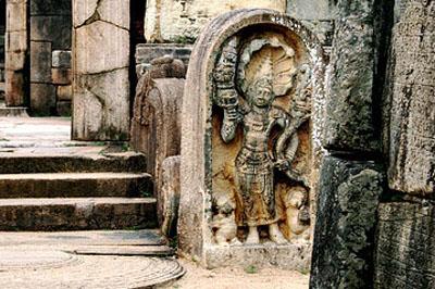 Polonnaruva: ezer évvel ezelőtt pompásan mutatott a királyi központ.