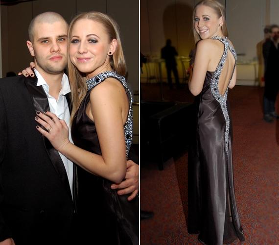 A magyar Jennifer Anistonként is emlegetett énekesnő a párja oldalán is fotózkodott.