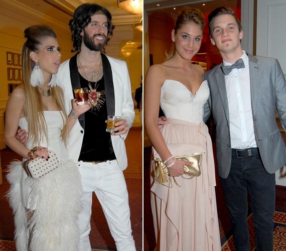 Más sztárpárok is eljöttek: jelen volt Varga Viktor és Cynthia Dictator, valamint végre együtt mutatkozott Nyári Dia és Tóth Marcell is.