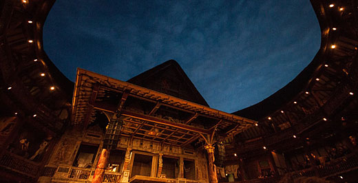 A felújított Shakespeare's Globe. Fotó: Helena Miscioscia