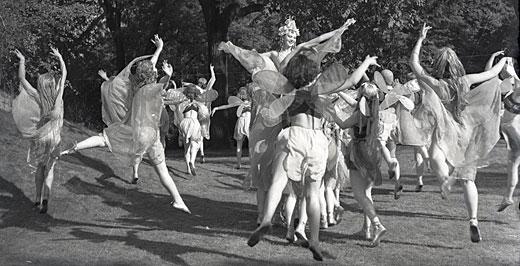 Szentivánéji álom Szeleczky Zitával, 1939. Forrás: OSZMI