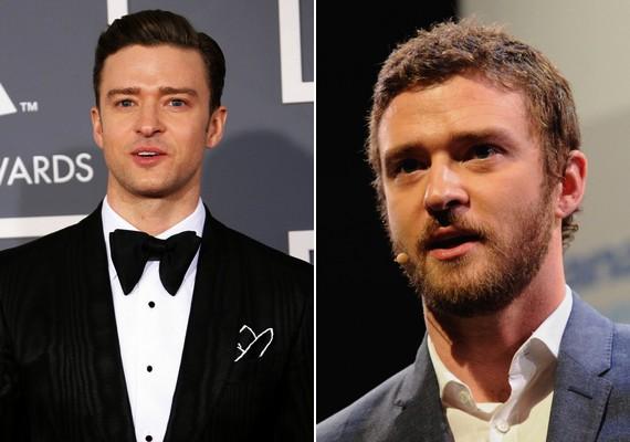 Justin Timberlake-nek is volt olyan időszaka, amikor úgy döntött, nem borotválkozik többé. Jól tette, hogy meggondolta magát.