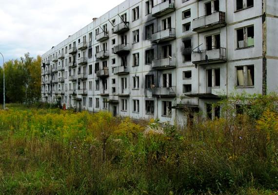 A Prágához közeli Milovice egy részét emberek lakják, de a régen katonai körzetként szolgáló szovjet lakótelepet a kilencvenes évek elején kiürítették, és azóta sem tért vissza senki.