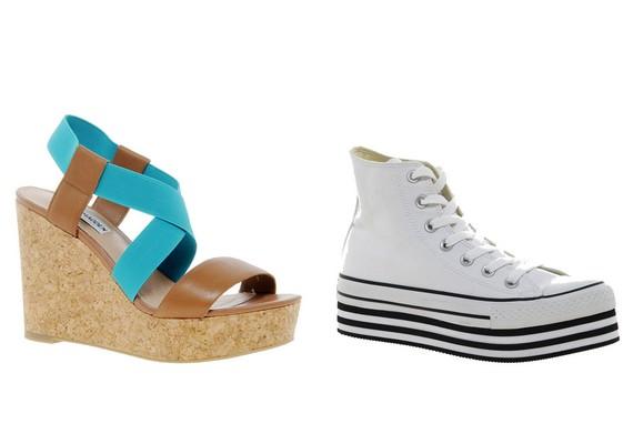 A túlságosan magas telitalpú szandálok, cipők inkább pata benyomását kelthetik. A tornacipők és edzőcipők esetében ez különösen igaz.