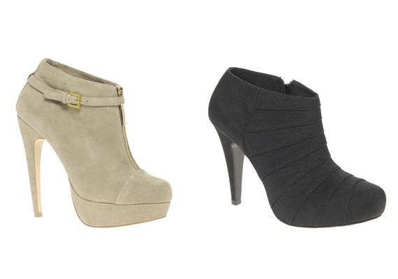 Ha a platformcipőt a bokacsizmával ötvözöd, akár Claudia Schiffer utódjaként is tekinthetsz magadra.