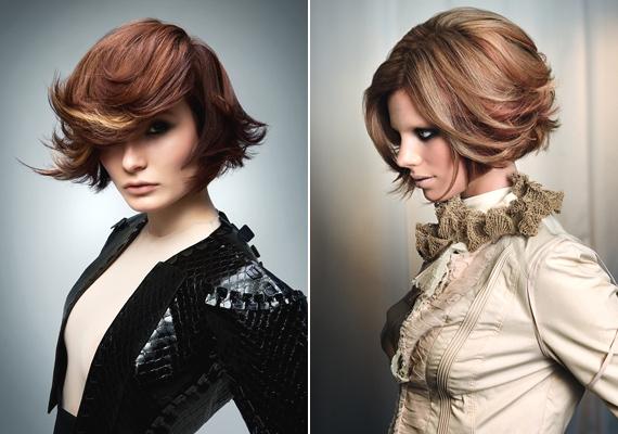 Igazán mutatós, ha a hajad nem szimplán kivasalod, hanem a végeit valamelyik irányba húzod. Sőt, ha merész vagy, akár előre vagy hátra is fésülhetsz egy-egy tincset, úgy még látványosabb az összhatás.