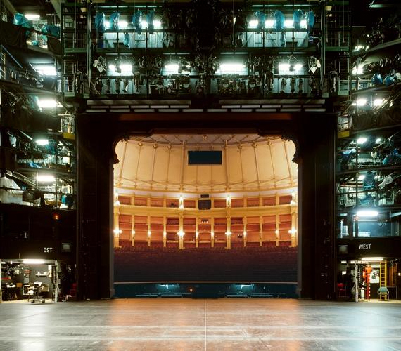 Bayreuthi Fesztiválszínház.
