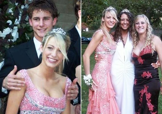 Blake Lively már akkor is nagyon stílusos volt, mielőtt híressé vált volna. Szalagavatóján viselt ruhája olyan, mint egy hercegnőé.