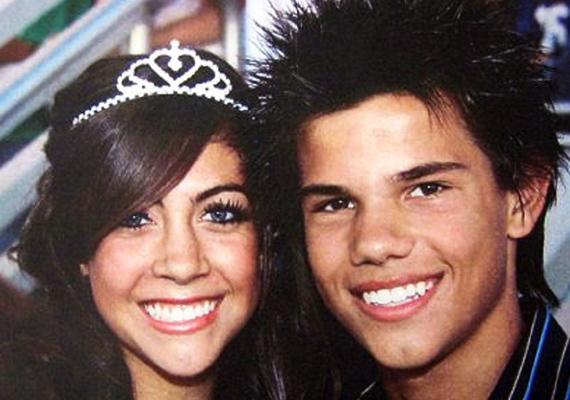 Taylor Lautner sokkal inkább cuki volt a végzős bálon, semmint férfiasan jóképű, de elnézzük neki.