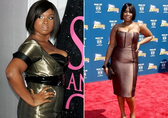 Jennifer Hudsont az egyik legszexibb fekete énekes-színésznőként tartják számon, pedig neki sem vékony az alkata.