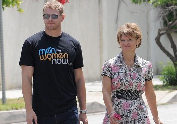 Kellan Lutz és édesanyja, Karen Lutz